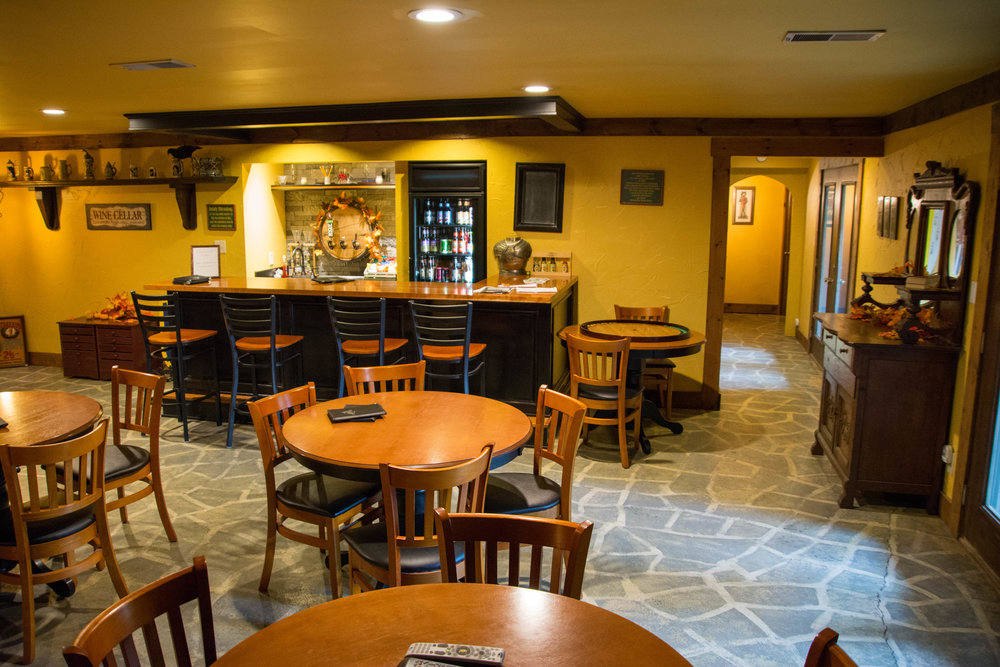 Relax at the Castle's own pub serving local brews!