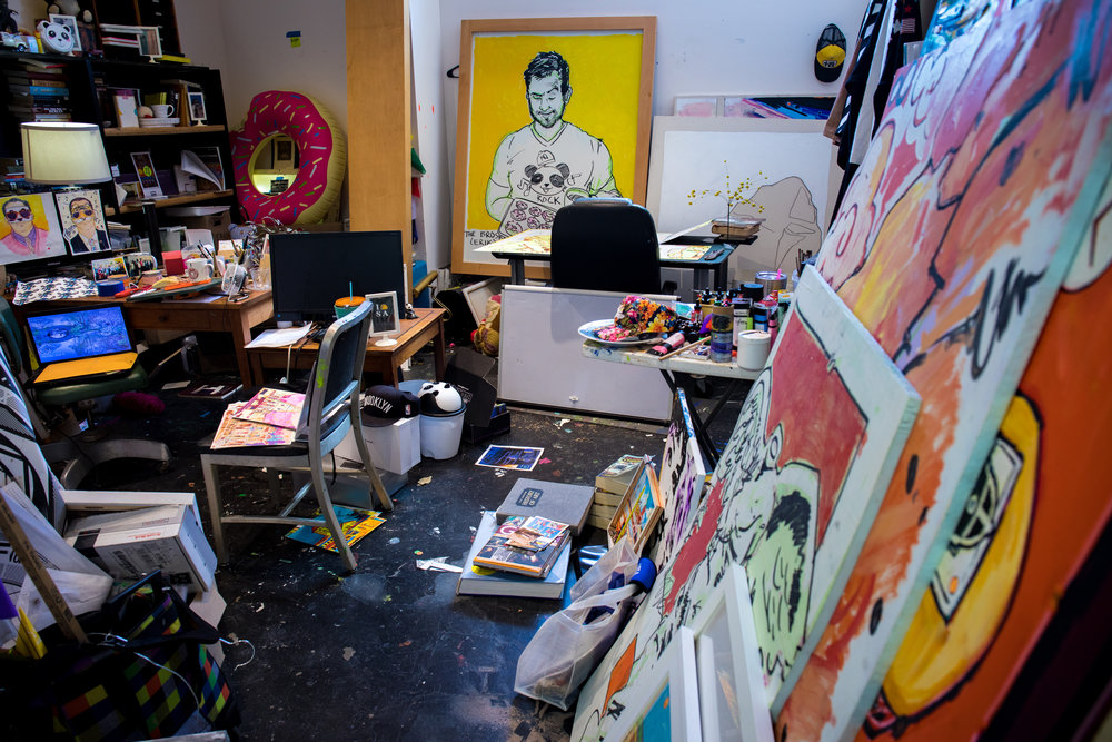 Rex Hausmann's Studio