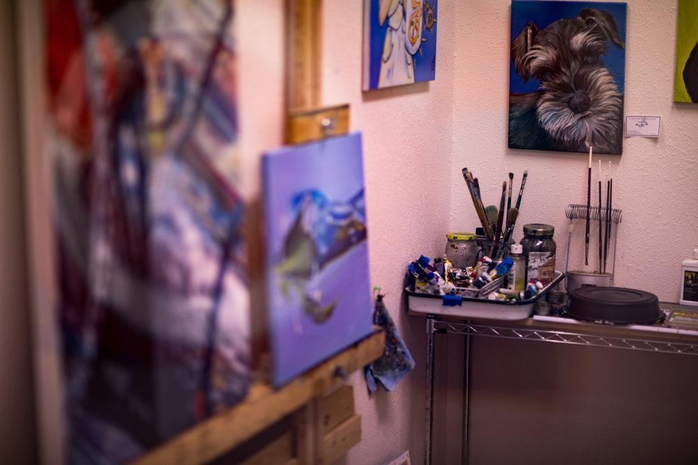 Denise Pintor's Studio