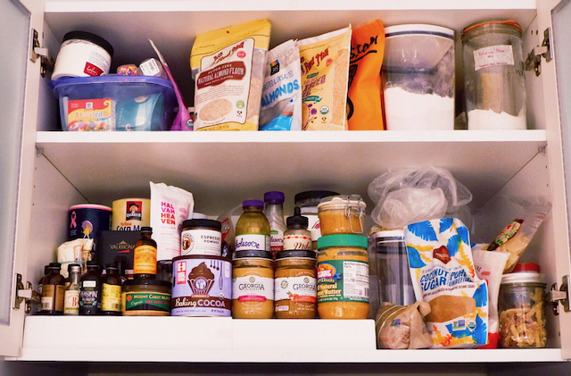 And this is not even my whole pantry…just the clean part of it…