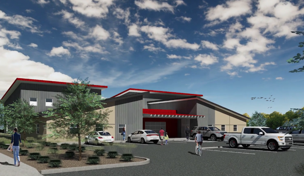 Artist Rendering of what the Gospel Advance Training Center could look like