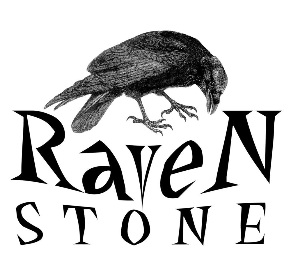 Ravenstone Books logo.