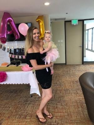 Alexandra's 1st Birthday Party!