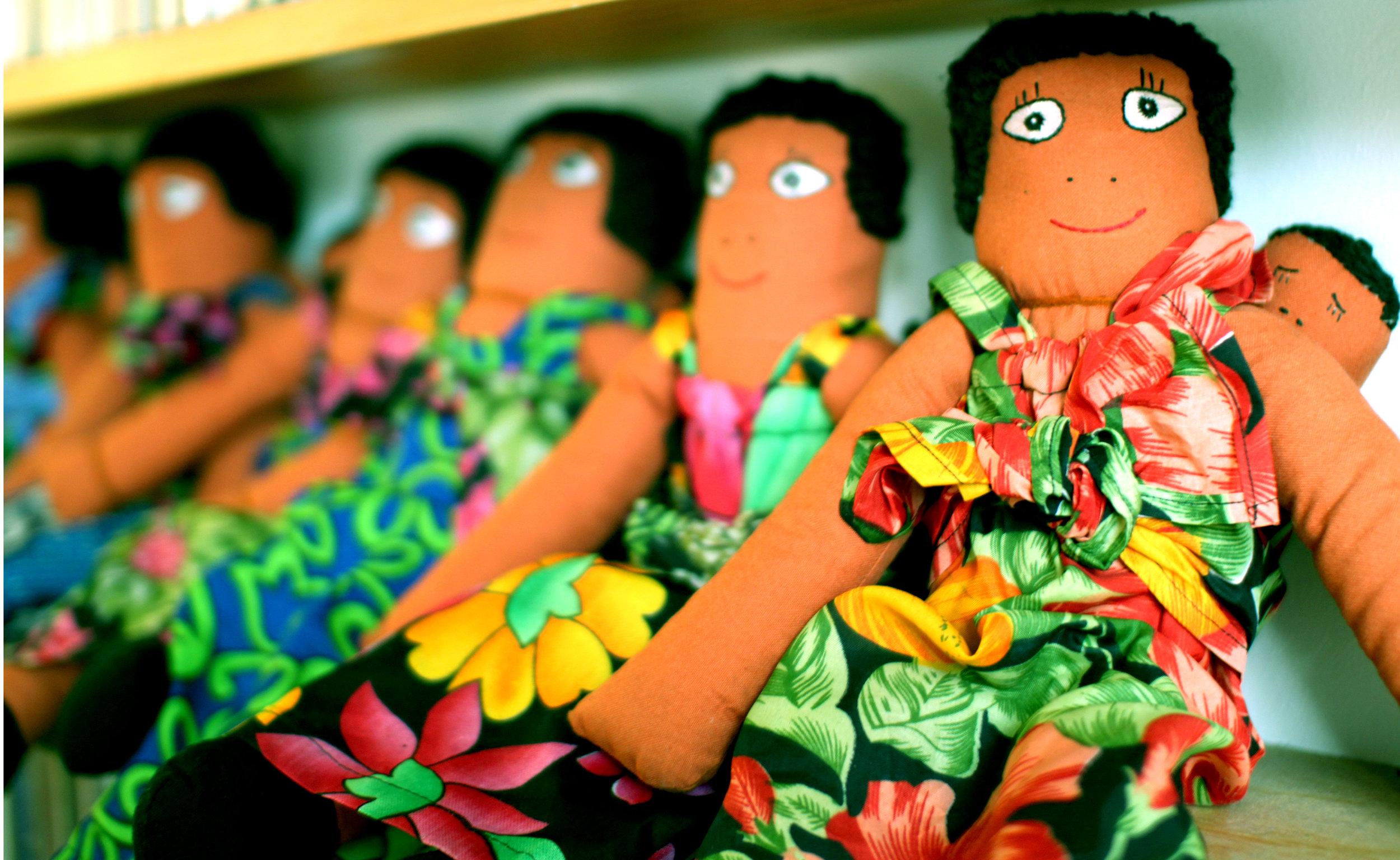 awamu ethical rag doll handmade in Kampala