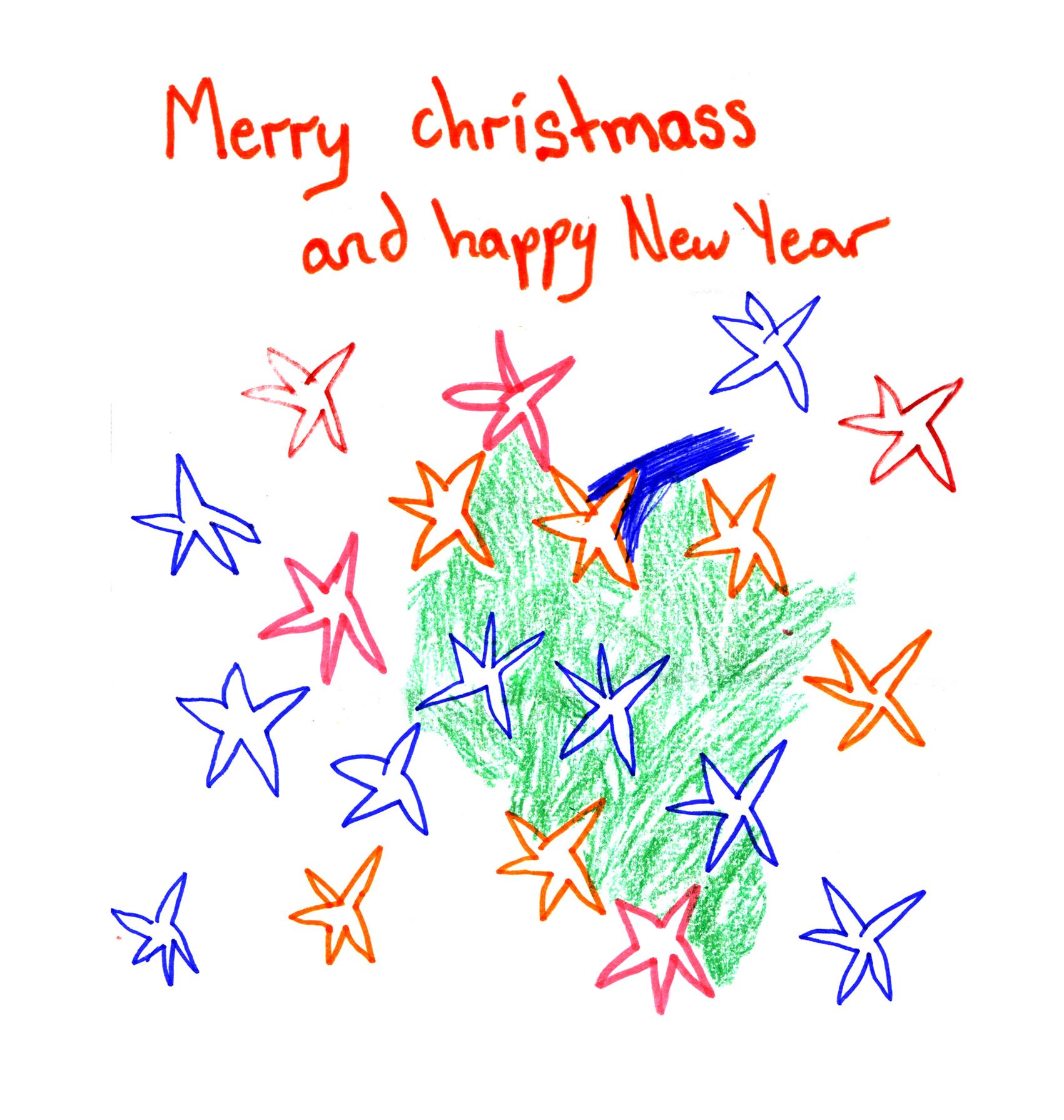 merry christmas stars1