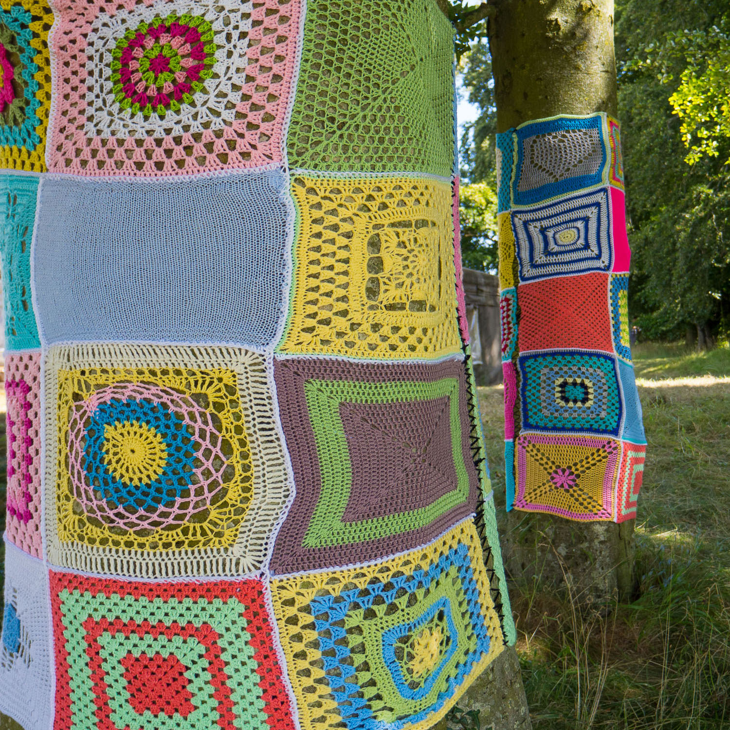 Yarn bombing at Together 2016