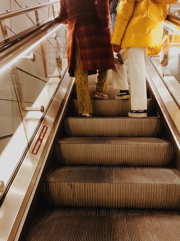 status quo being challenged leaving the Copenhagen Metro, 2018