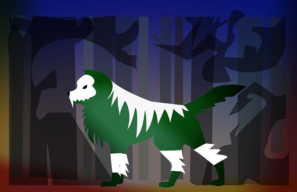 Chantal-Benitez-Character-Design-Illustration-Demon-Wolf-Steve