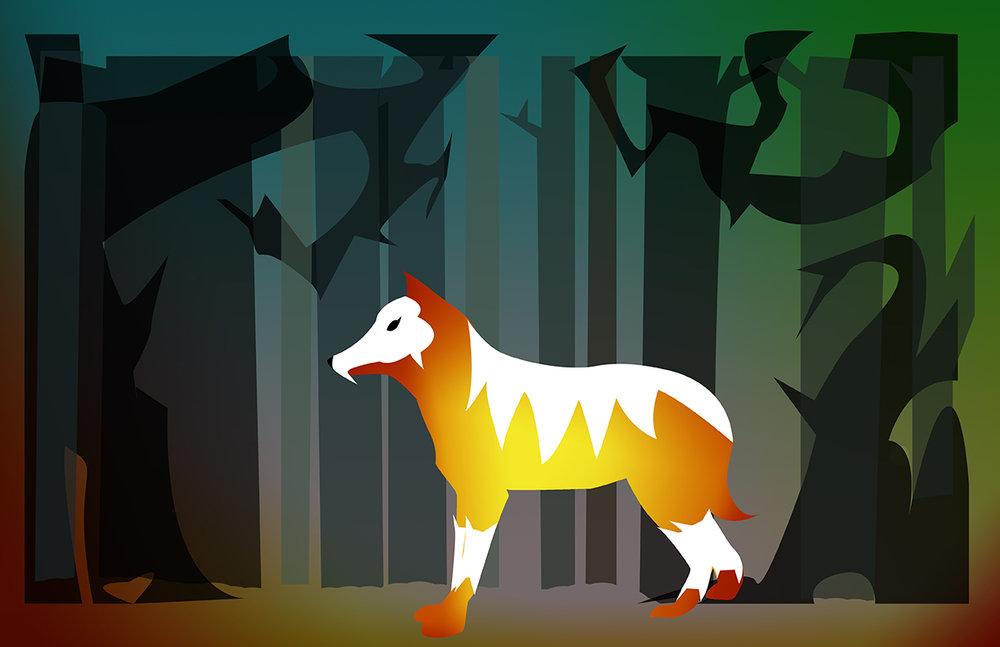 Chantal-Benitez-Character-Design-Illustration-Demon-Wolf-Chloe