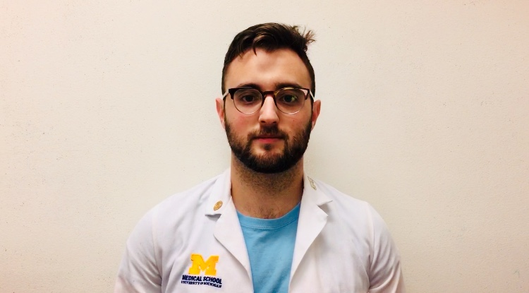 Seth Klapman, M3, The University of Michigan Medical School