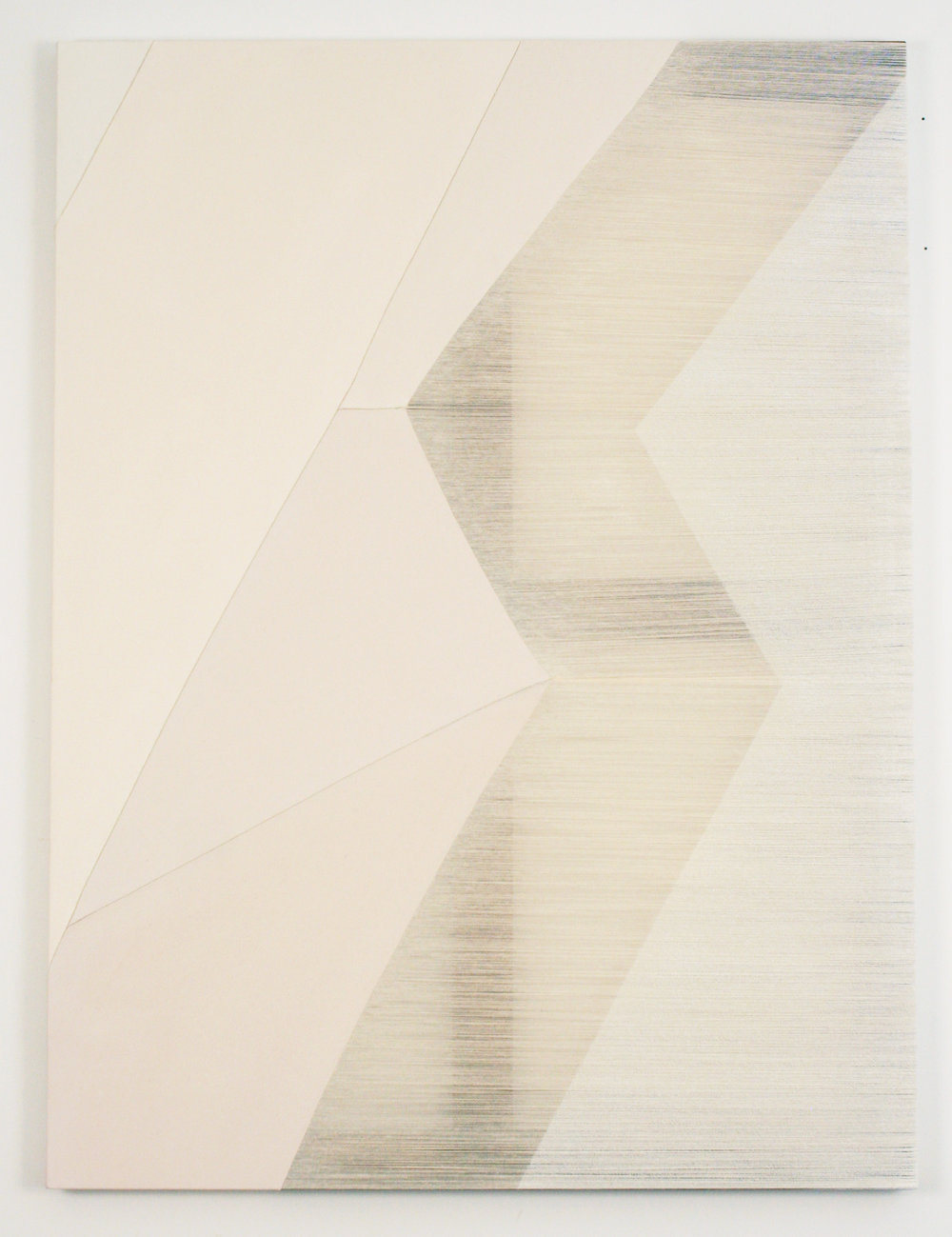 swift  2016 acrylic on stitched canvas 48 in x 36 in
