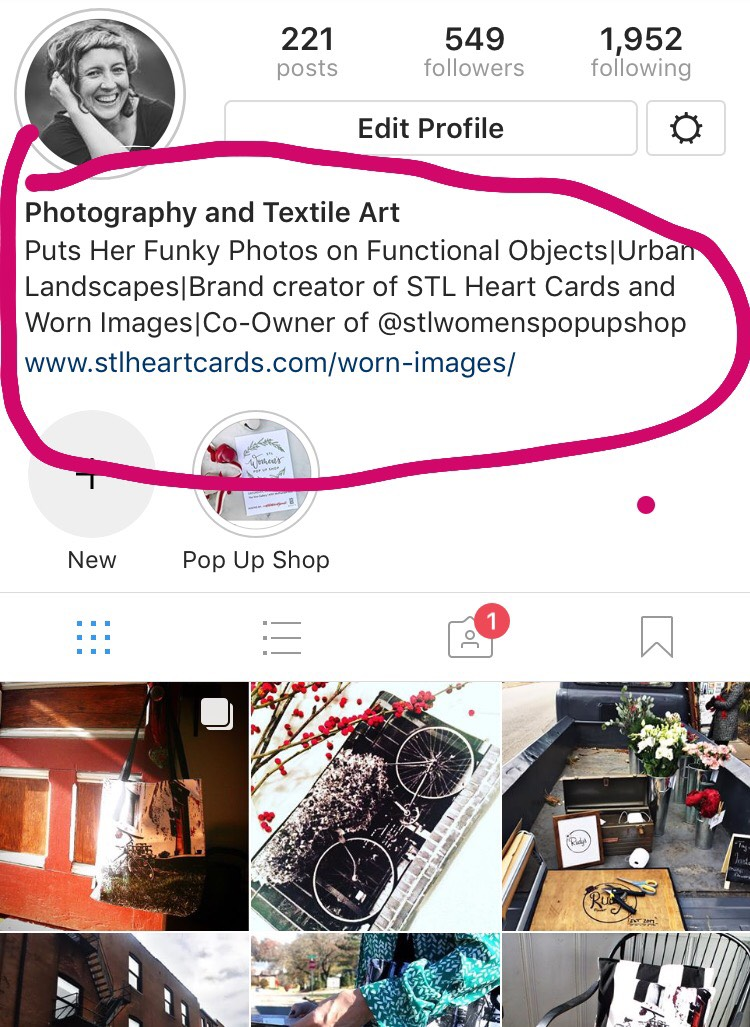 1. The Name on Your Profile - . If the name of your company is already in your Instagram handle, consider writing the type of business you have in the
