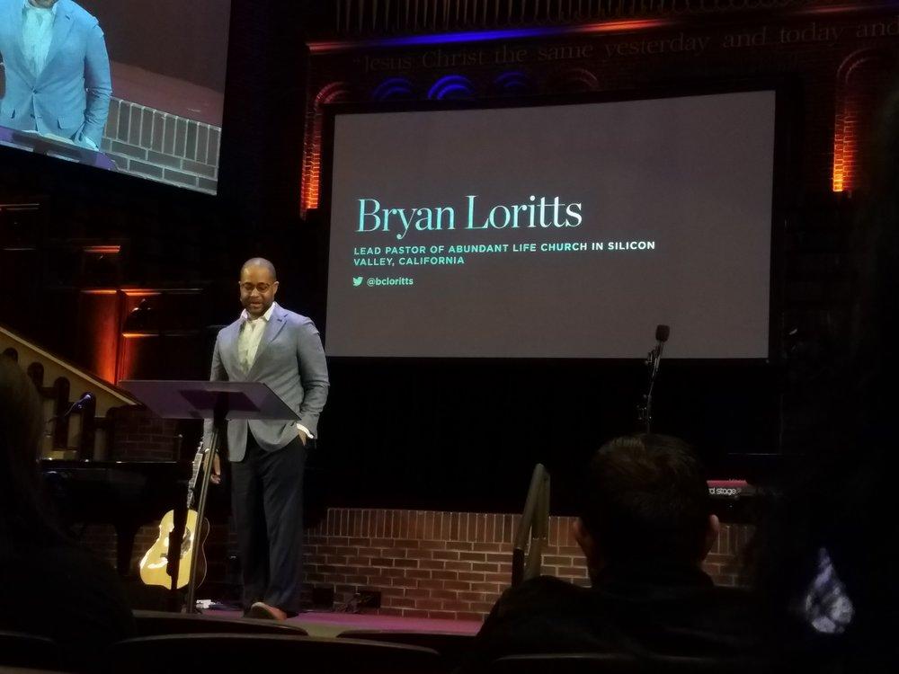 Pastor Bryan Loritts.