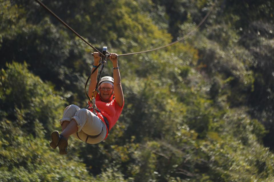 Ziplining over the Sierra Madre Mountains Excursion