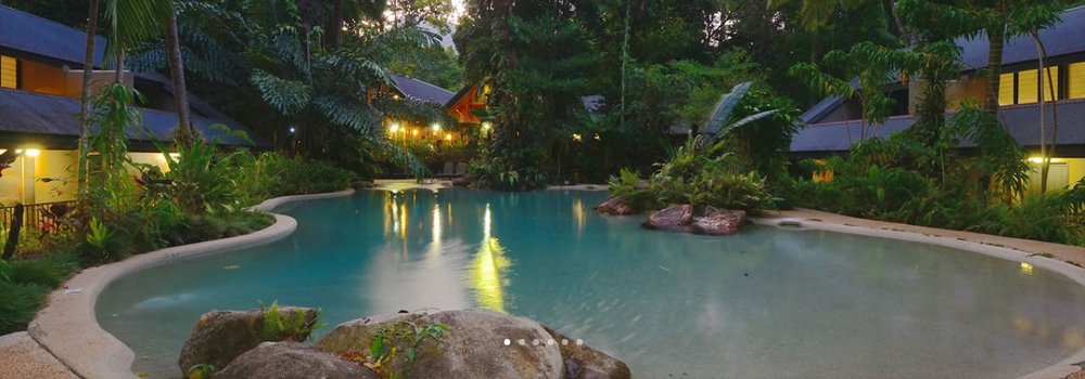 Ferntree Rainforest Lodge, Cape Tribulation  For more information contact  http://www.ferntreerainforestlodge.com.au/