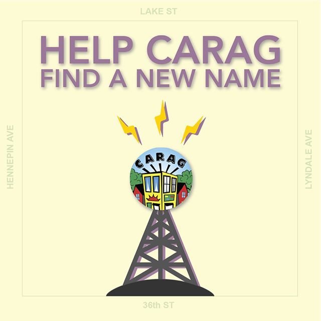 Great neighborhood seeking great name. CARAG wants a name that better communicates our community.  Submit your ideas today! surveymonkey.com/r/J868F9G