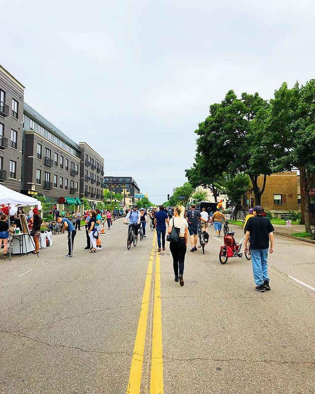 Happy Open Streets Lyndale! Thanks @ourstreetsmpls! • • • • • • #Community #MPLS #CARAG #CARAGMPLS #Minneapolis #MN #Minnesota #Minnstagramers #CaptureMinneapolis #CaptureMinnesota #CaptureMN #ExploreMN #TwinCities #LyndaleAve