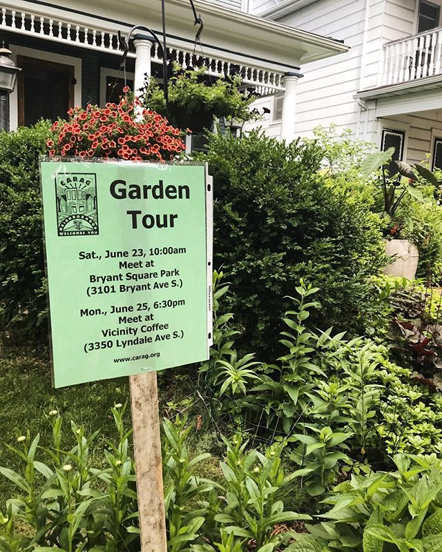 The first of two CARAG area Garden Tour's start tomorrow! Meet at Bryant Square Park at 10:00am to get a tour of some of our community's fabulous gardens!