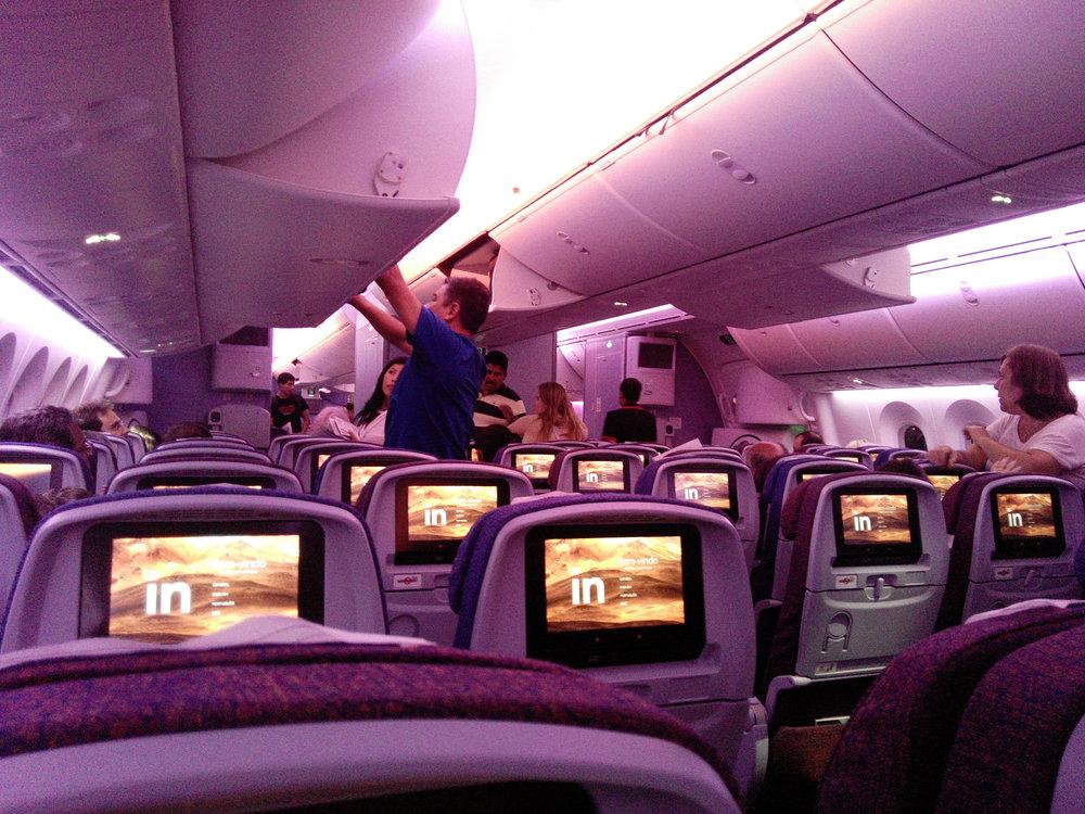 Dentro del Airbus A380