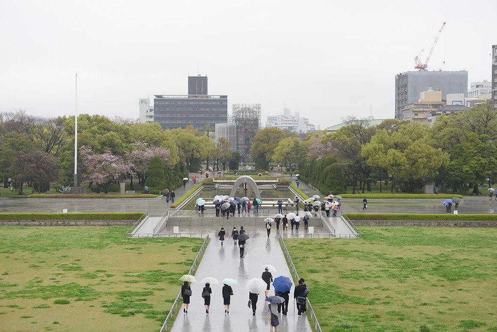 Parque memorial de la Paz