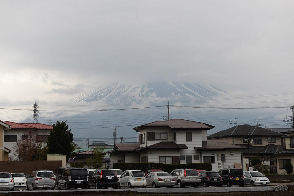 Apenas el Fuji...