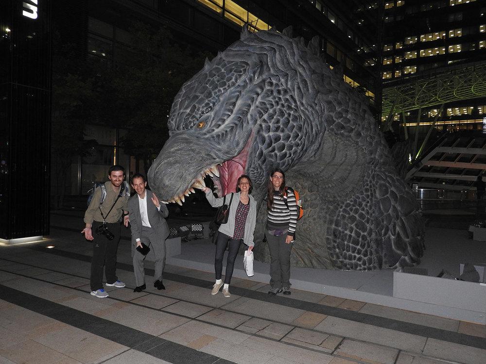 Godzilla ataca en Roppongi