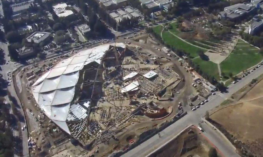 Aerial Construction Video November 2018