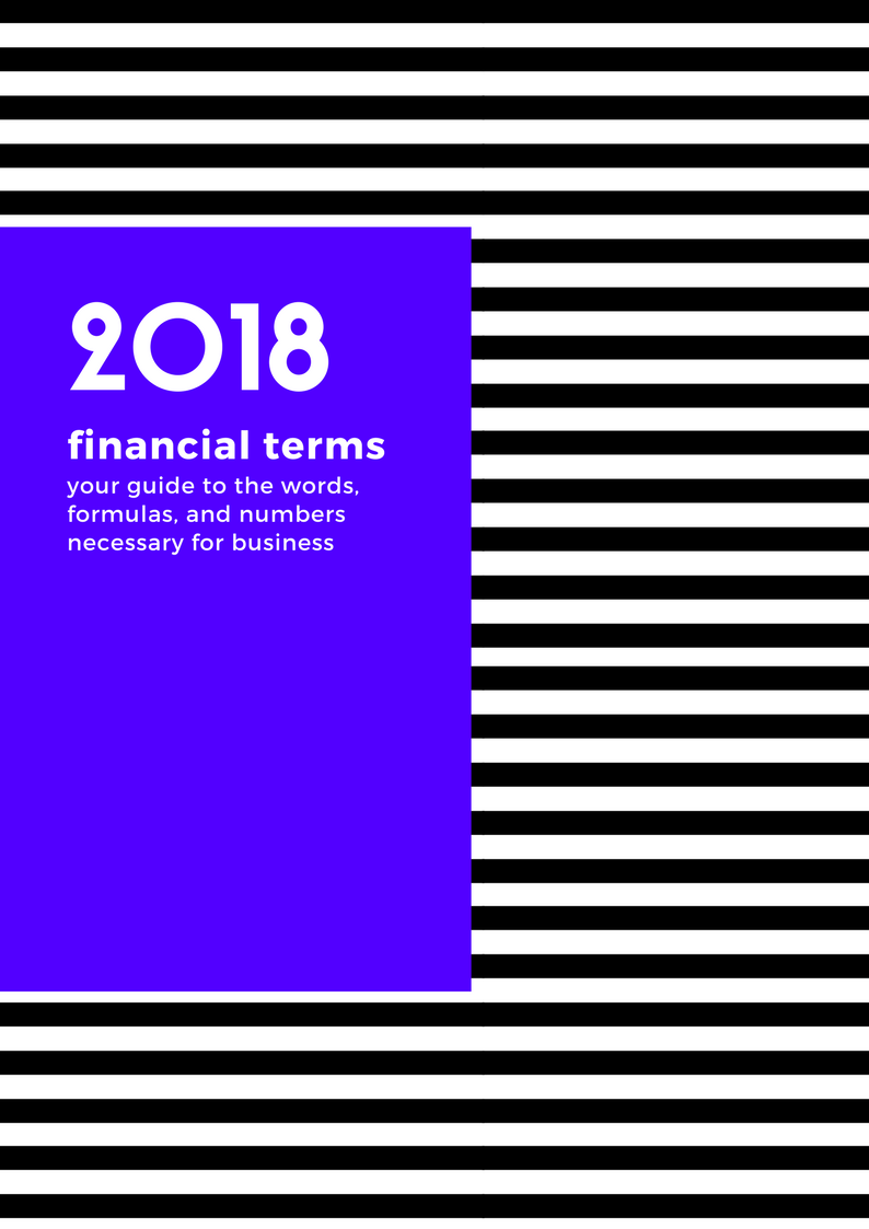 finance terms + Formulas to punctuate your business -