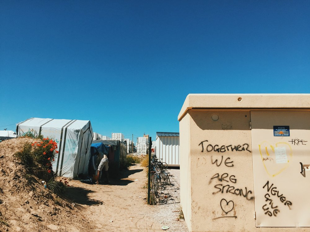 The Calais Jungle in Northern France By Megan Majd