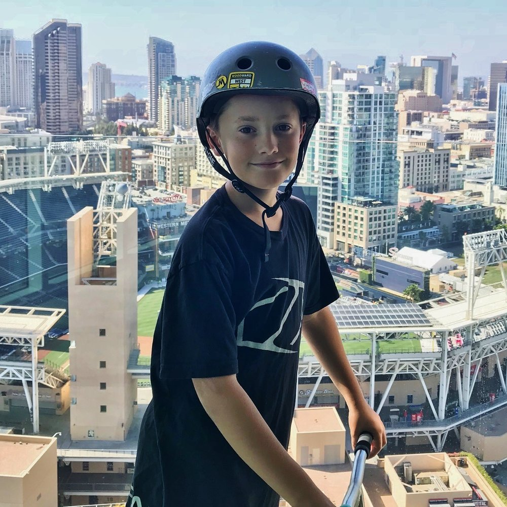 NOVICE Rider: Preston Stell - @preston_skott