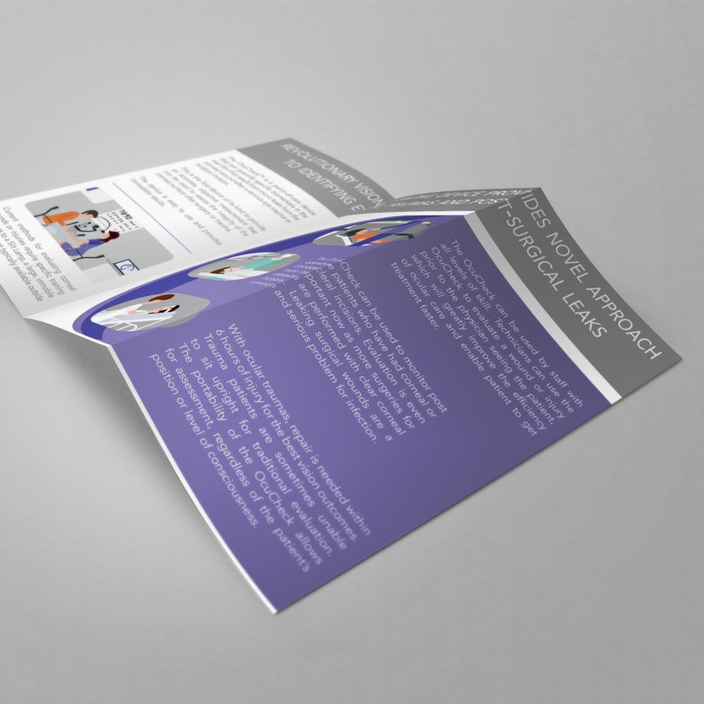 Tri-fold brochure - inside