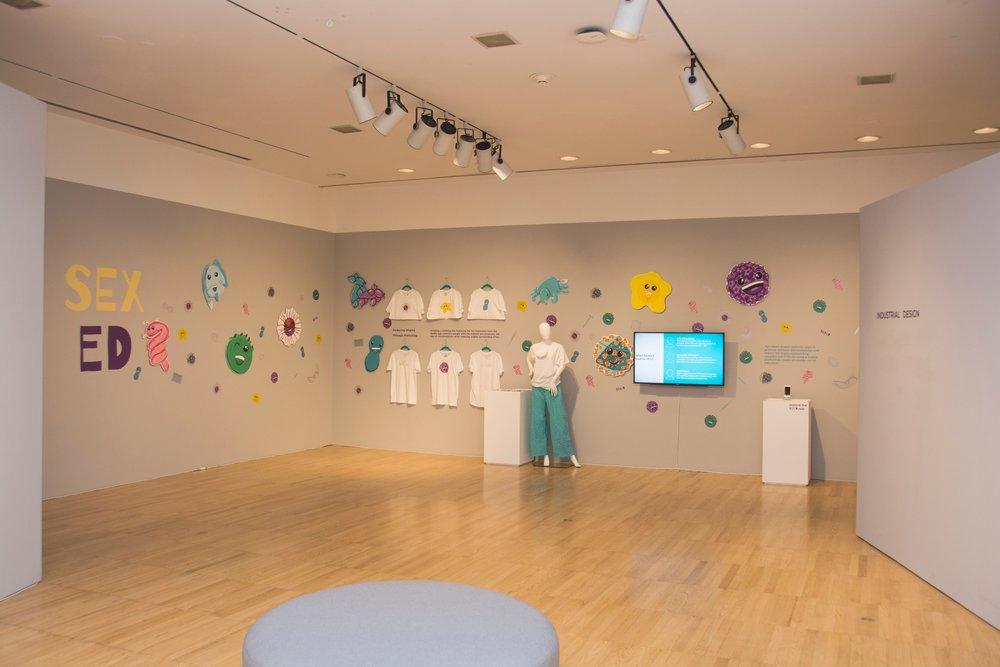 2018 Master of Fine Arts Exhibition - Krannert Art Museum, East Gallery