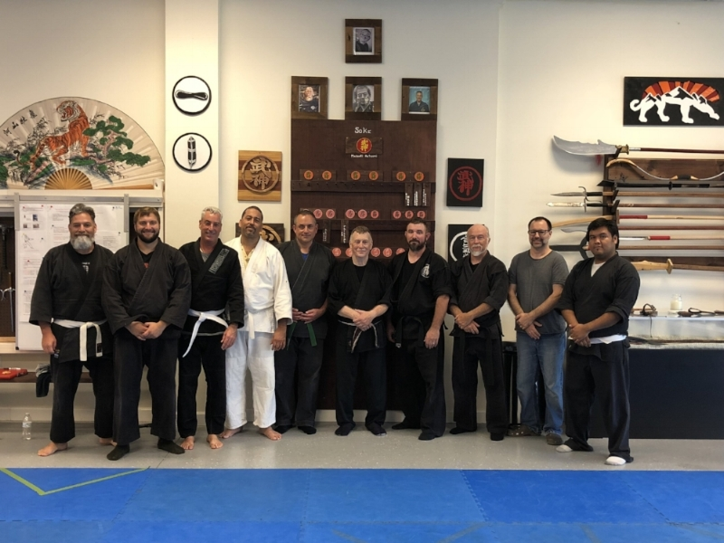 15 September 2018 Shihan Joseph Adriance Training Seminar at Mountain Tiger Dojo in Fort Myers, FL