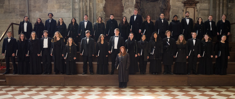 The WP Chamber Choir. Photo, David Kerzner.