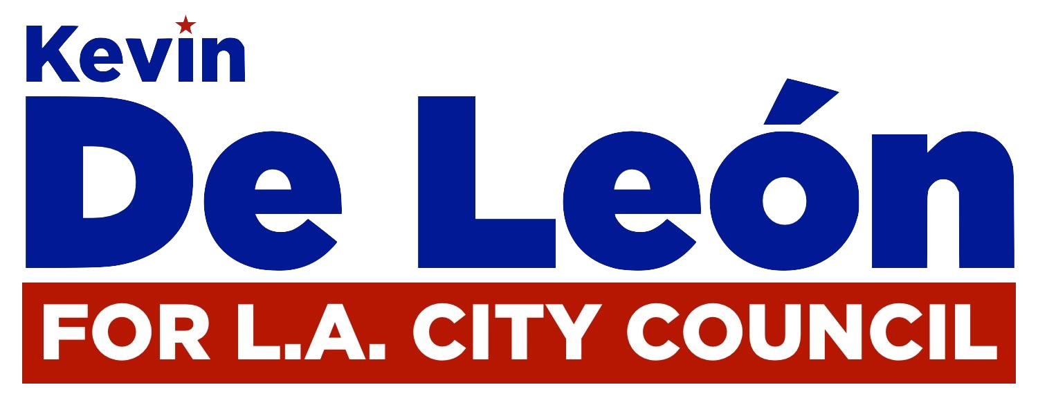 Kevin de León For LA City Council