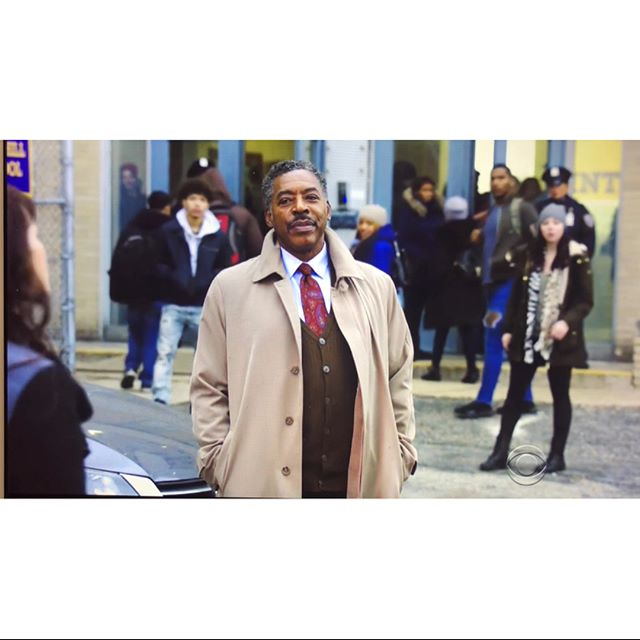 """#TBT to filming CBS, """"Blue Bloods"""" episode about a high school hostage gone wrong.  Special shout out to Instagram for not allowing me to post full scenes."""
