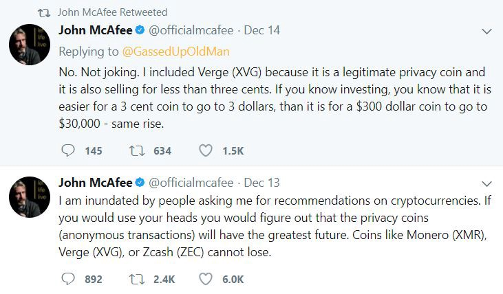 Doing the math, that's  7.5k likes . Talk about shill power.
