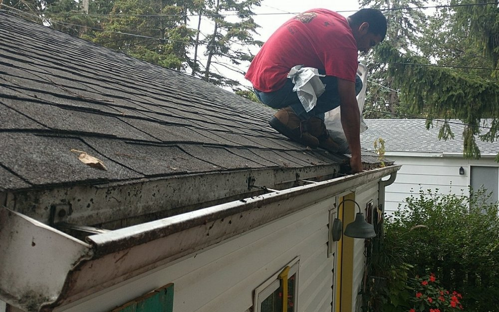 Cleaning-Gutter