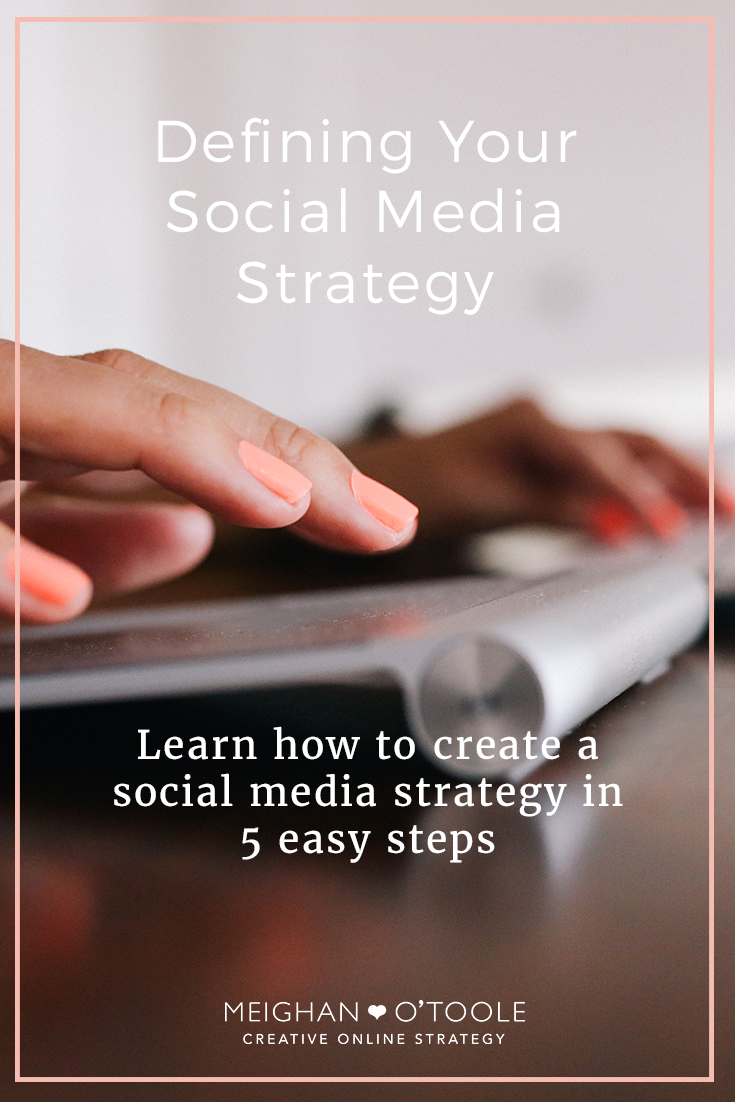 Defining Your Social Media Strategy in 5 Easy Steps