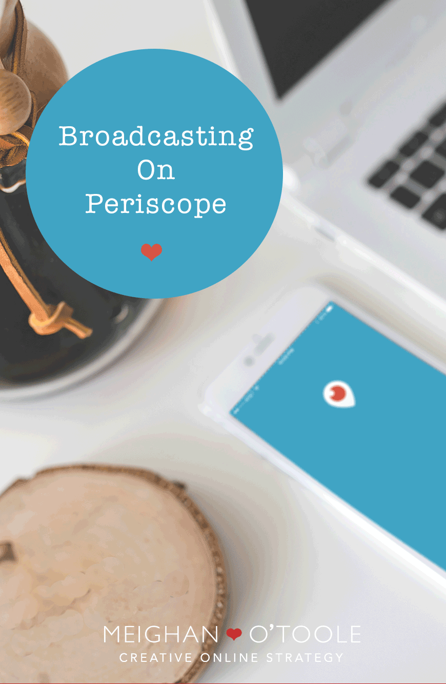 Things I learned on my first Periscope broadcast