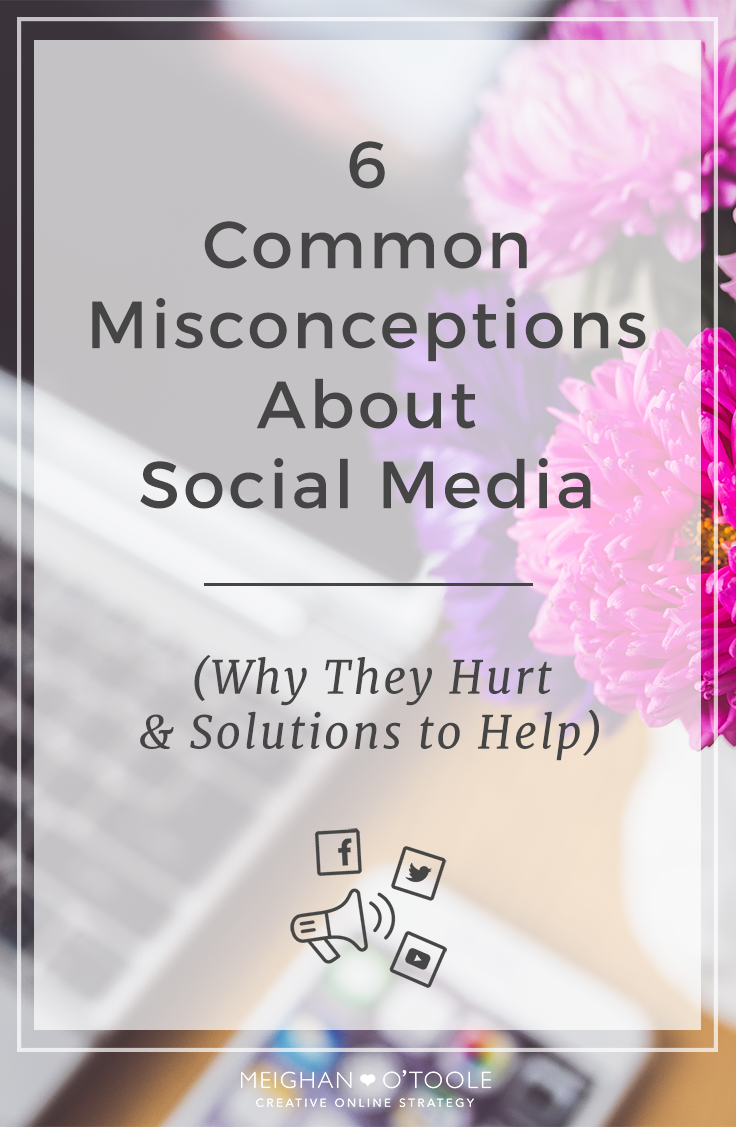 Don't fall for these myths regarding social media, they'll only hold you back.