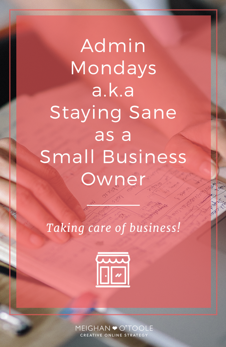 Every minute counts as a small business owner, organizing my time and delegating tasks has helped me enormously. Here's how a simple adjustment in my schedule cleared up my schedule and made me fee a whole lot more sane around the banalities of running a small business.