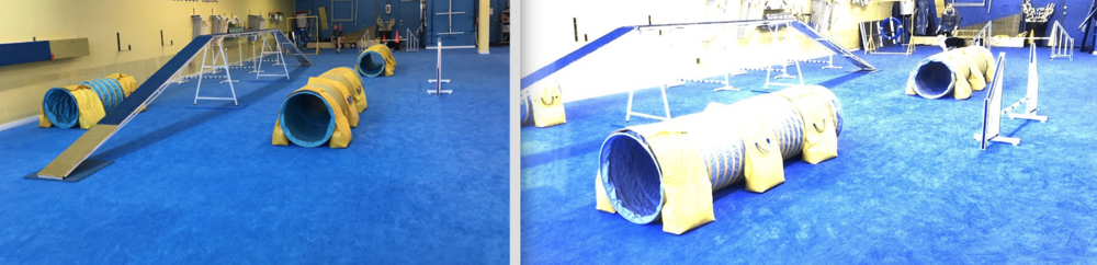 Yellow works great on BLUE flooring. It does not have good contrast on Grass/Sand or Dirt