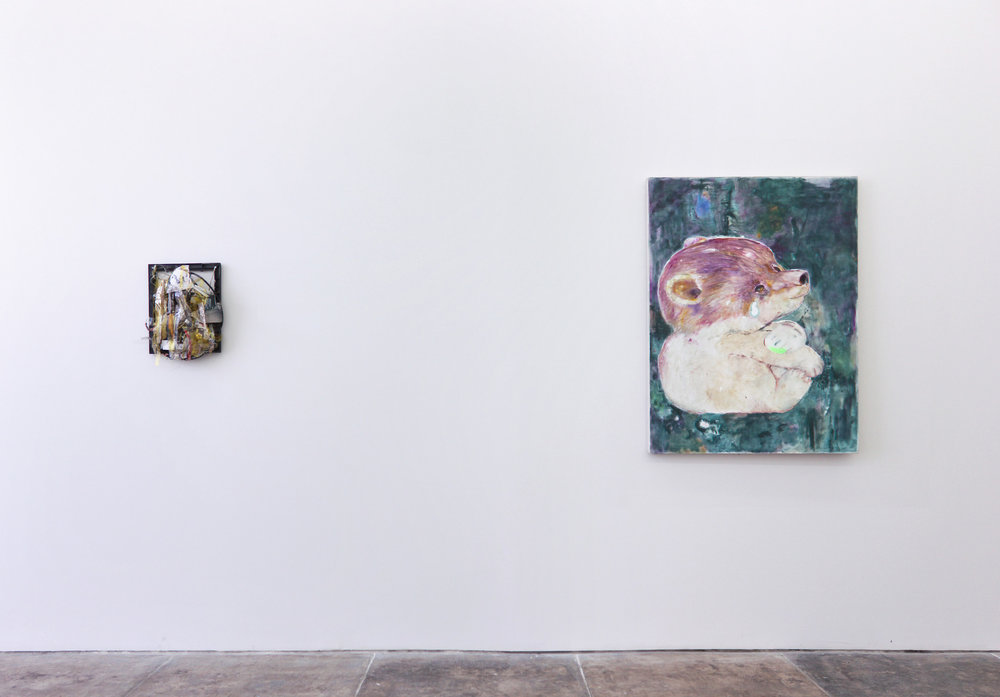 "Installation view, ""No Body No Soul"", Young Art, Los Angeles"