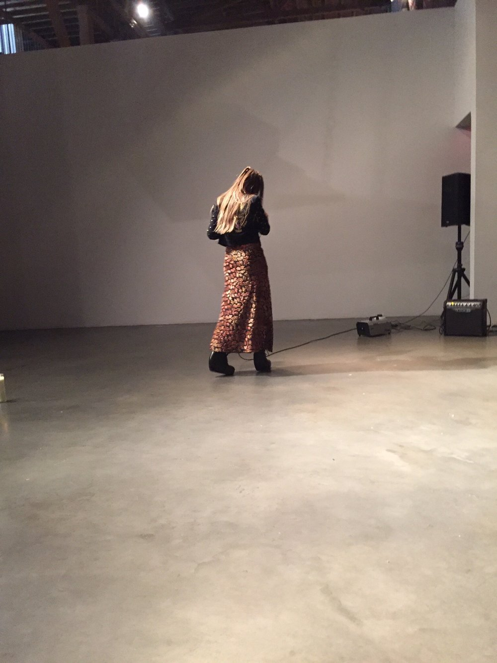 "Pioneer Works, Brooklyn, 2015: ""Kembra Pfahler's Performance Art 101"""