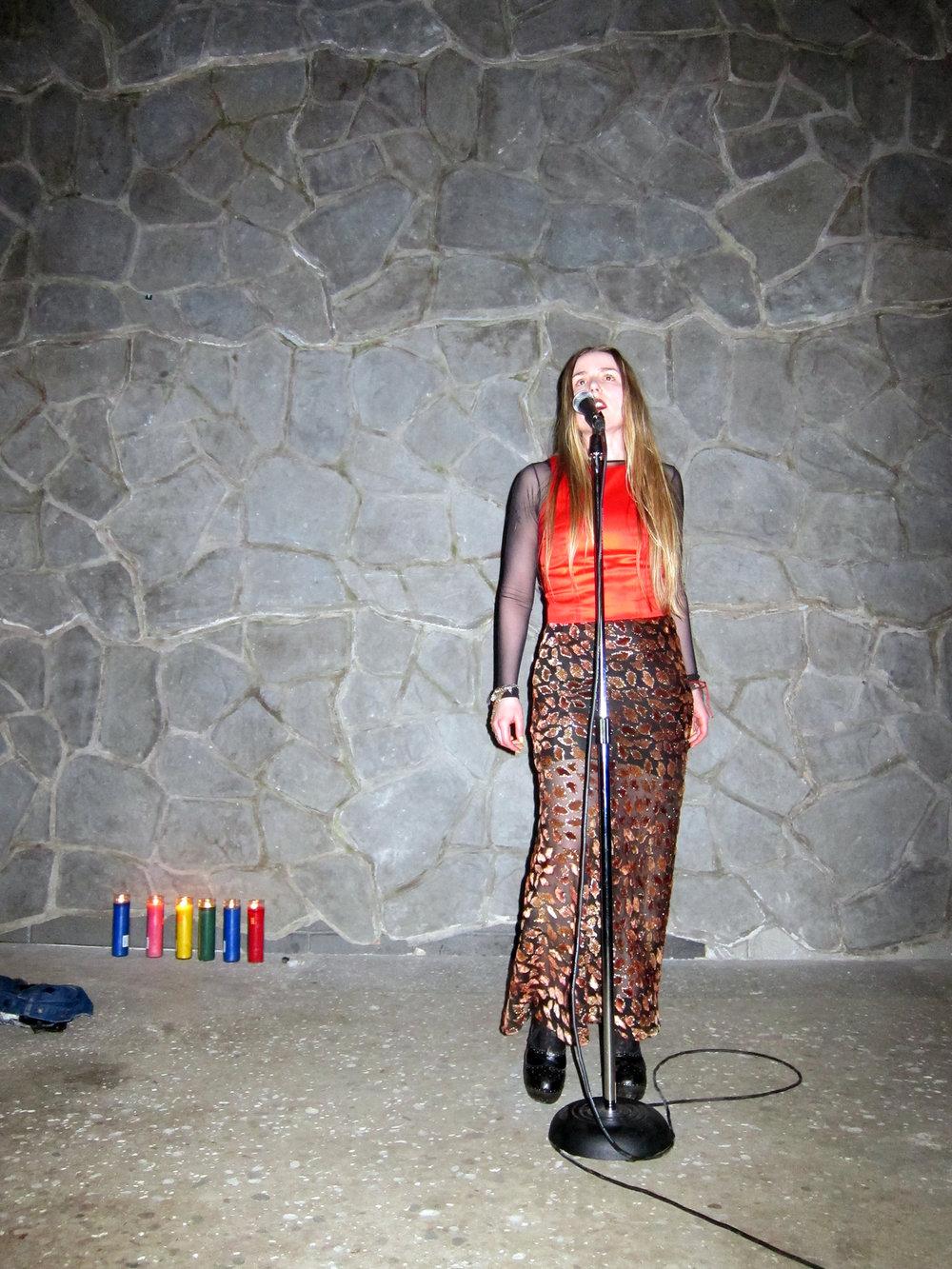 "Greene Naftali, NYC, 2015: ""Blue"" EP release event"