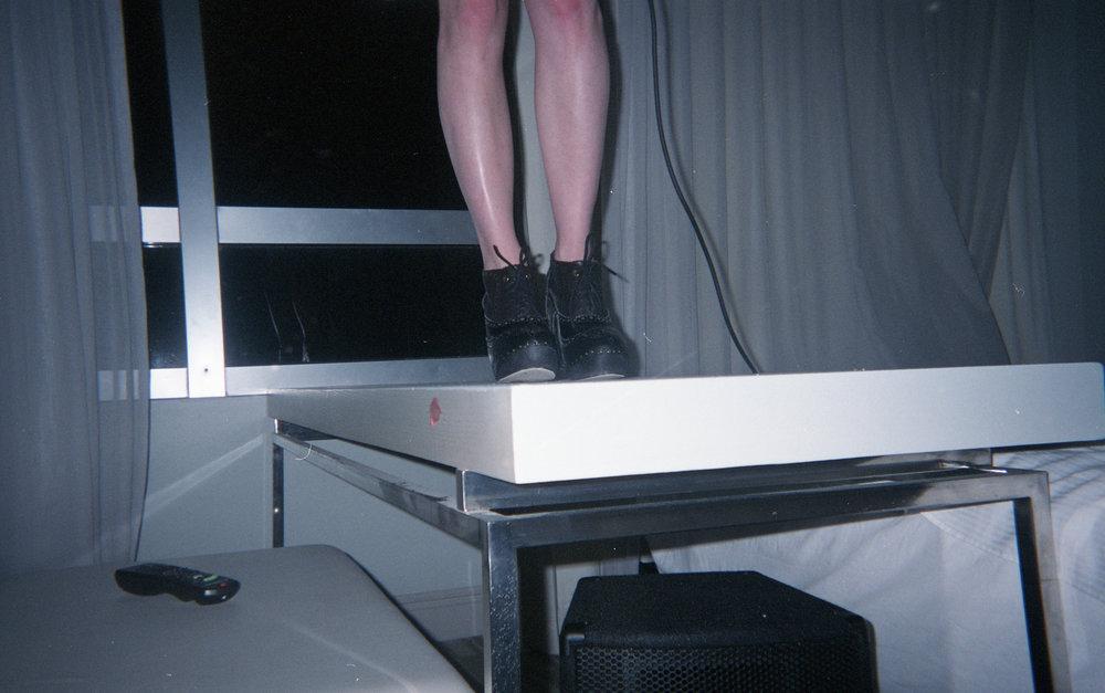 Deauville Beach Resort hotel room, Miami, 2009