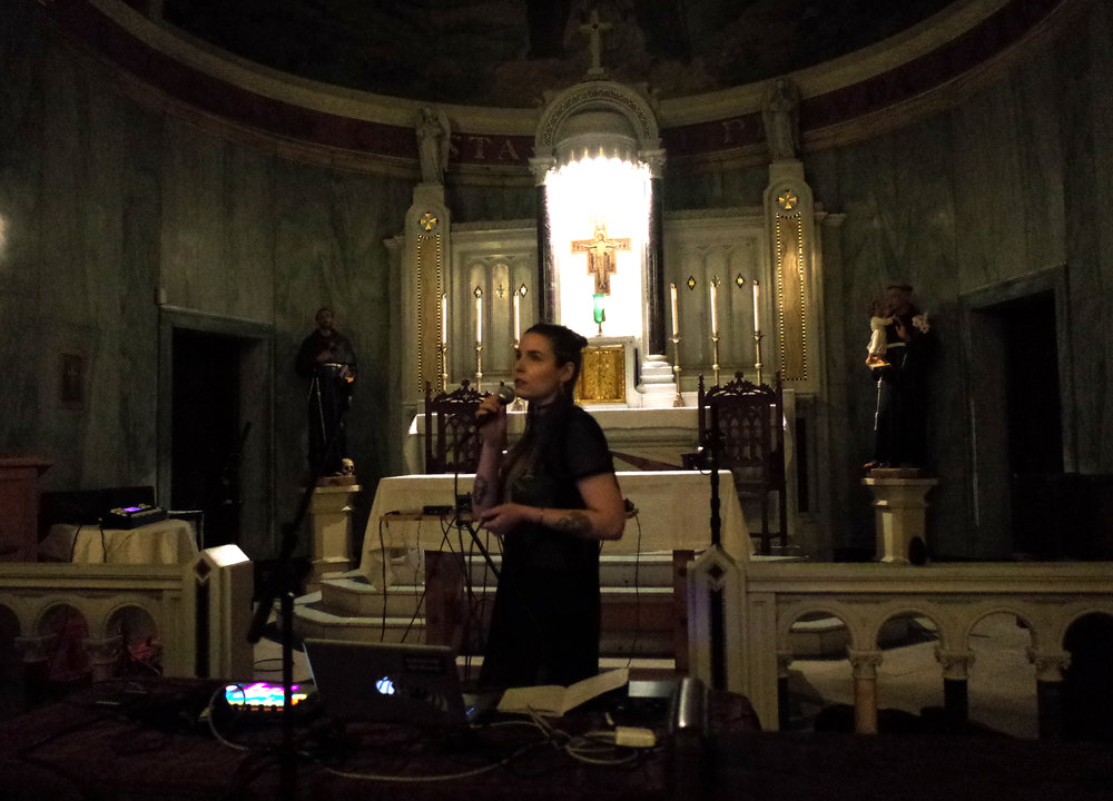 "San Damiano Mission, Brooklyn, 2017: ""Blowhard"" organ & electronics performance event"