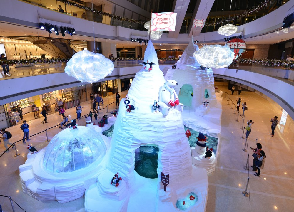 IFC Mall Christmas concept design Hong Kong