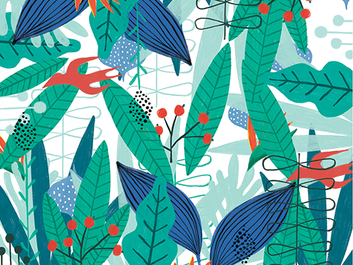 Textile Design, Indie Boho